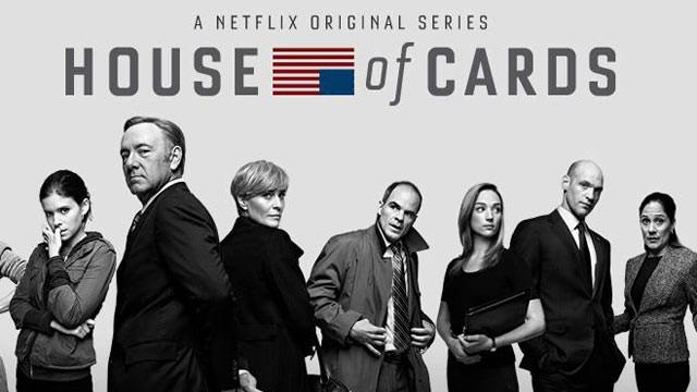 Poster presentación de la serie 'House of Cards'