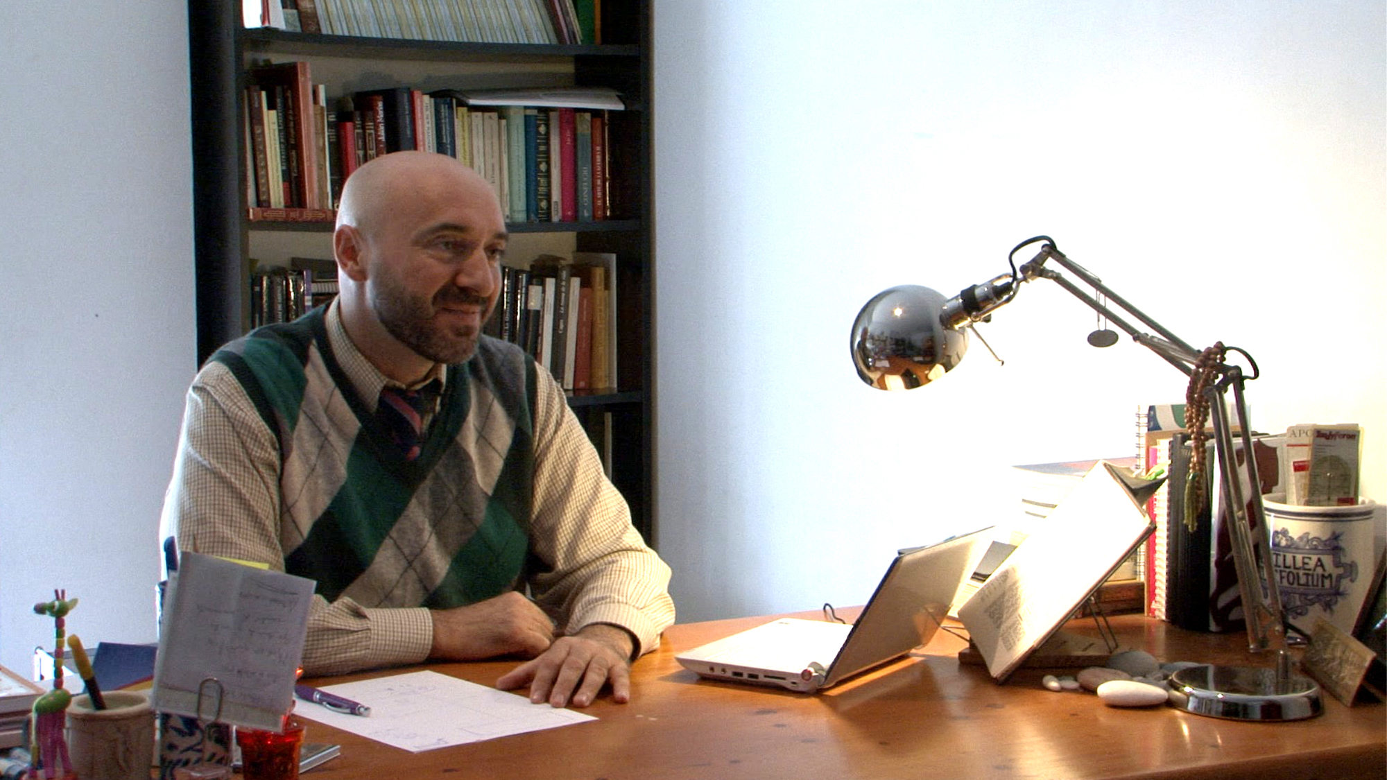Imagen de la entrevista a Abdelnur Segura por ISLAM HOY