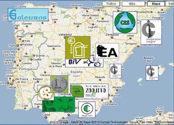 Mapa monedas locales de España