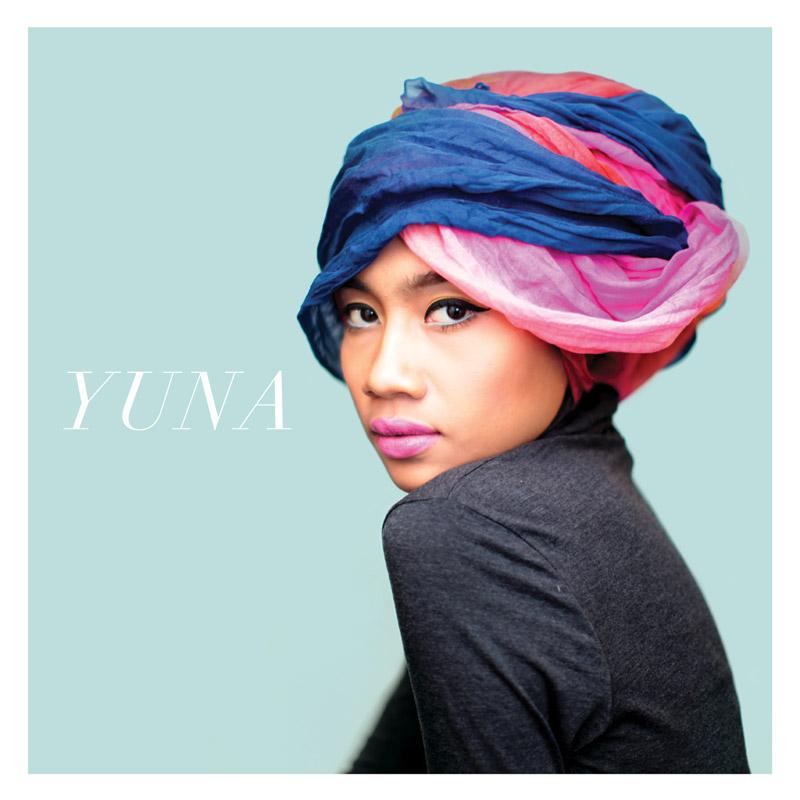 Portada del disco Yuna, por Yuna