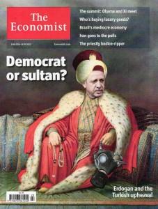 Portada de The Economist - Recep Tayyip Erdogan