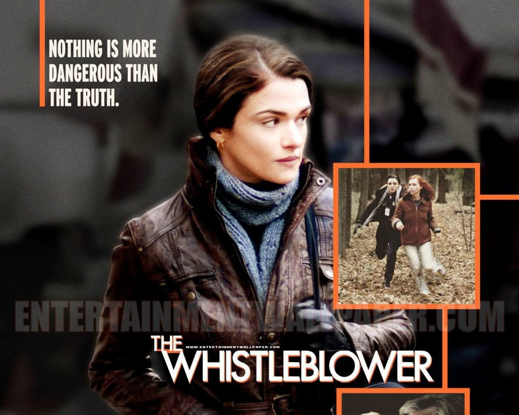 Cartel de la película 'The Whistleblower' (El alertador)