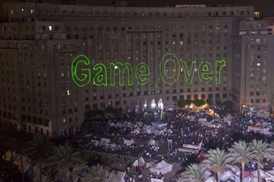 Egipto 'Game Over'