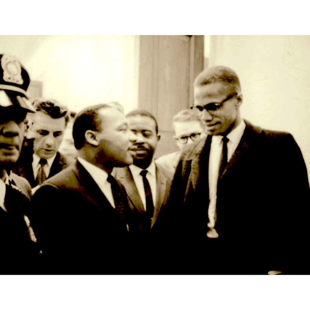 Malcolm X y Martin Luther King