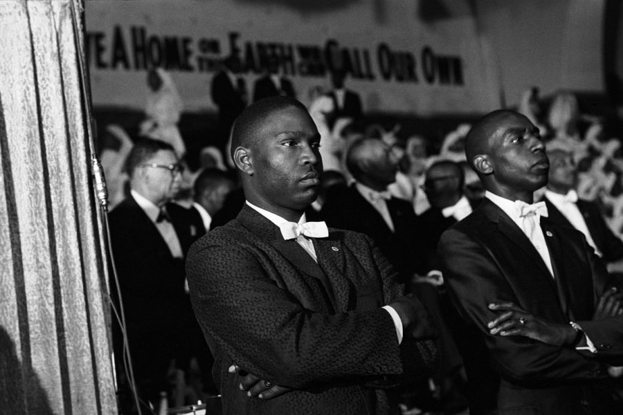 Reunión de la Nación del Islam, Nueva York, 1961