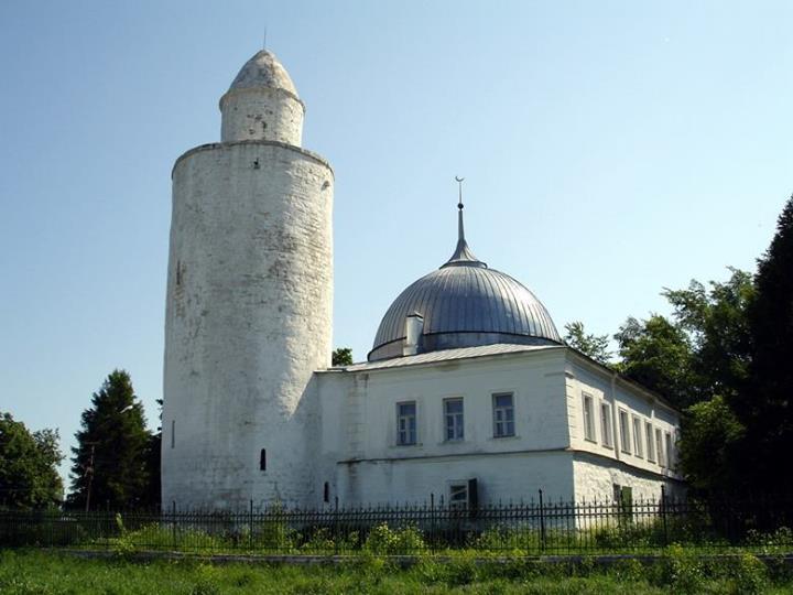 Mezquita Khan en la ciudad de Kasimov, al este de Moscú