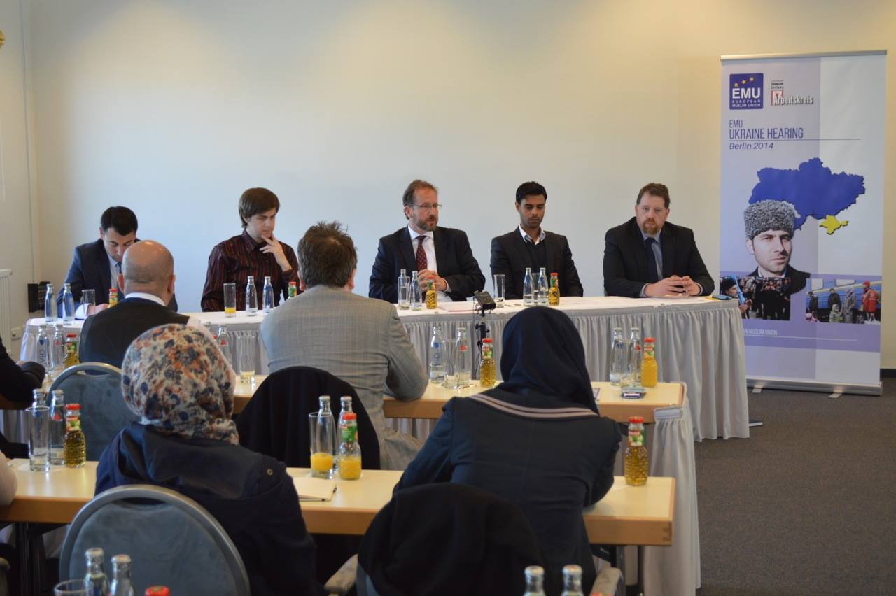 Sesión sobre la situación en Ucrania organizada por EMU