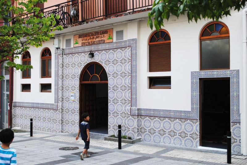 Entrada principal del Centro Cultural Islámico de Errentería