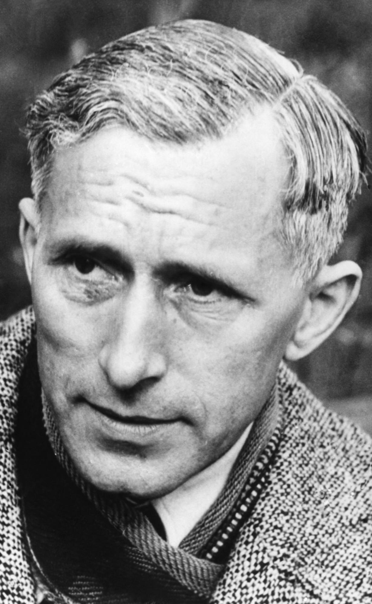 Ernst Junger, escritor, filósofo e historiador alemán.
