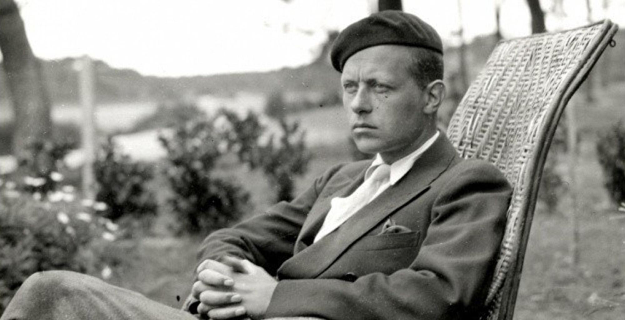 Pierre Drieu La Rochelle, escritor de L'homme à cheval.