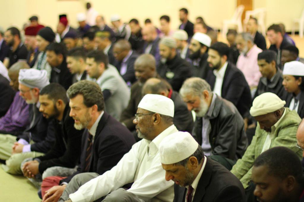 Musulmanes de diferentes partes del mundo.
