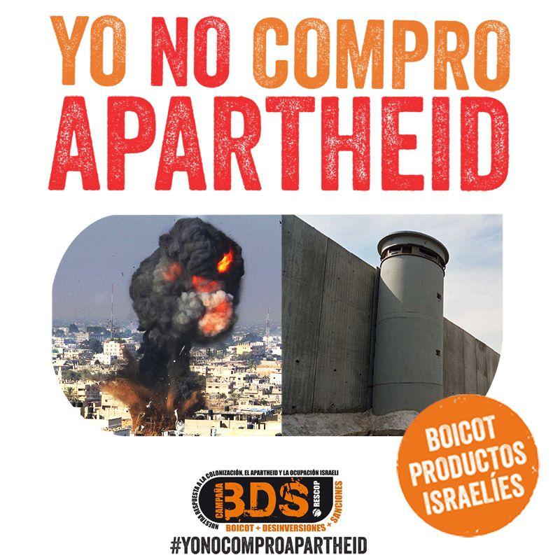Yo no compro genocidio ni apartheid israelíes