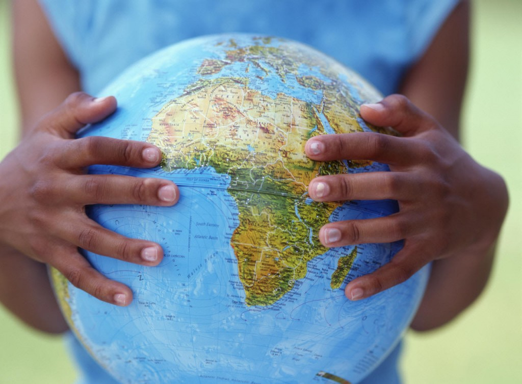 africa globoterraqueo