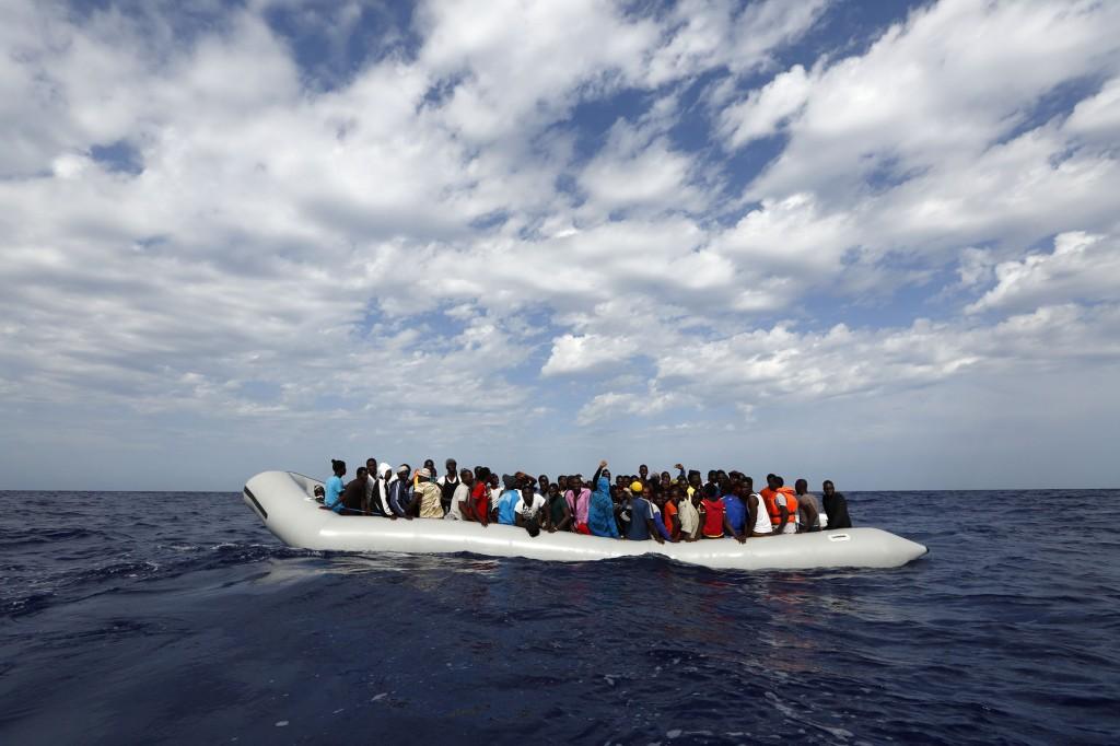 rescate de emigrantes mediterraneo