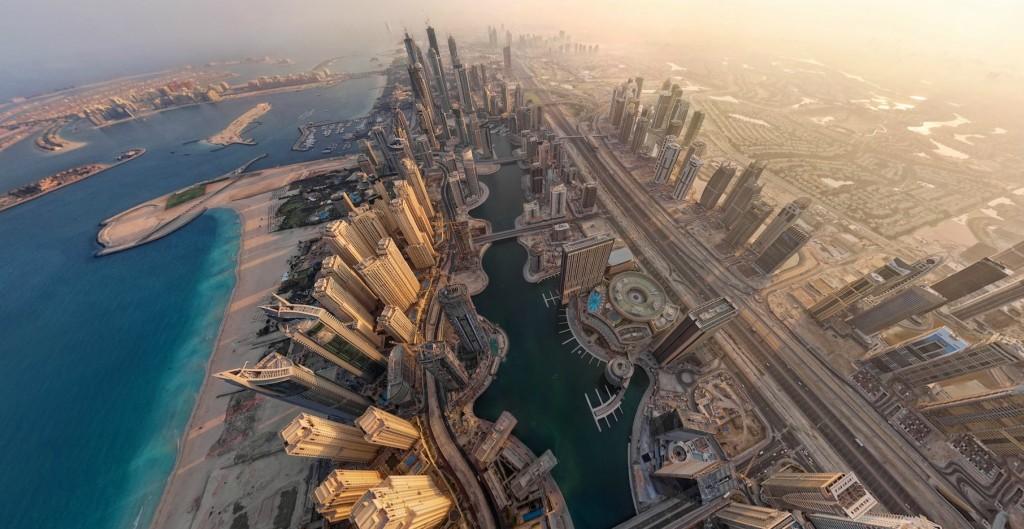 dubai vista aerea emiratos