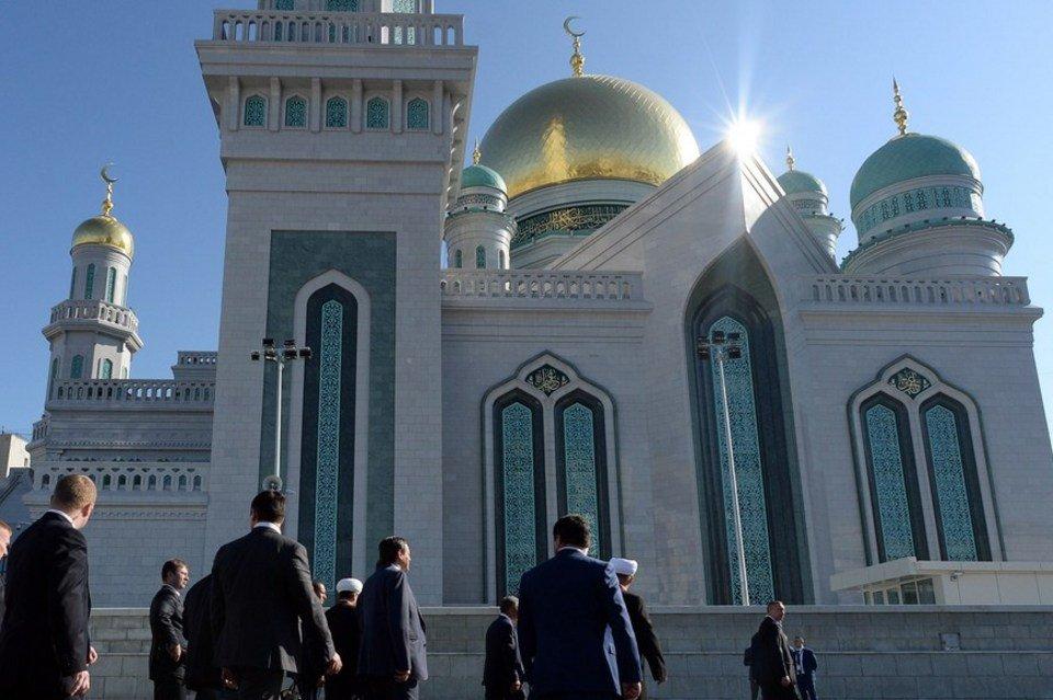 mezquita de moscu