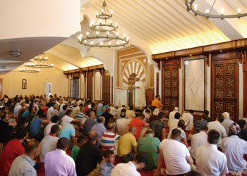 Yumua en la Mezquita Mayor de Granada el pasado día 26 de agosto.